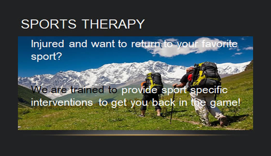 sportstherapy